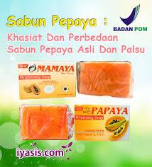 Sabun Rdl sabun pepaya khasiat dan perbedaan sabun pepaya asli dan palsu