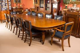 antique oak dining room furniture antique victorian oak dining table and 12 chairs c 1870 at 1stdibs