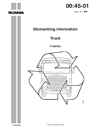 scania dismantling manual transmission mechanics axle