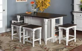 3 Piece Kitchen Table by Market Square Fairbanks 5 Piece Dining Set Includes Extension