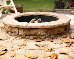 How Many Pavers Do I How To Build A Stone Fire Pit Home Improvement Blog