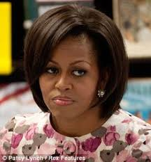 ms obamas hair new cut pin by miss suzie on president obama and the first family