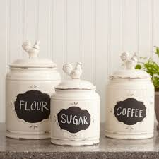 white kitchen canisters sets interior modern kitchen canister sets for kitchen decorating