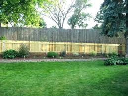 Backyard Privacy Ideas Wood Fence Ideas For Backyard Simple Fence Ideas Backyard Privacy