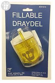 dreidel where to buy alef judaica fillable yellow plastic hanukkah dreidel 6 per