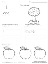 free printable worksheets for preschool kindergarten and first