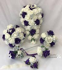 Bridesmaid Flowers Cadbury Purple Flowers Ebay