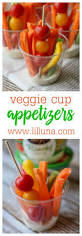 veggie cup appetizers perfect for parties and after