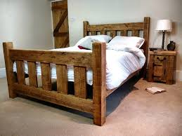 rustic twin bed frames installing rustic bed frames