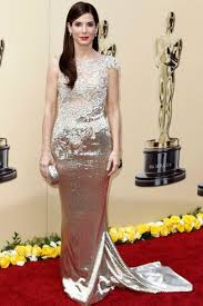 The Blind Side Actress 2010 Oscars Red Carpet Celebrity Dresses Fashion And Style