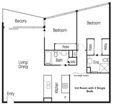 cityviews 3 bedroom apartment melbourne australia booking com