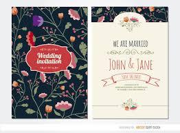 wedding backdrop graphic wedding invitation flowers vector
