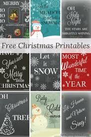 43 free christmas printables crafts free christmas