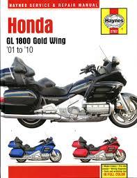 haynes werkplaatshandboek voor honda gl1800 gold wing 2007