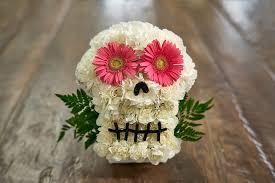 diy day of the dead dia de los muertos flower sugar skull petal