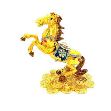 feng shui position lit feng shui bejeweled wish fulfilling golden horse lazada malaysia