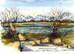 idaho adventure hemingway u0027s silver creek preserve urban sketchers
