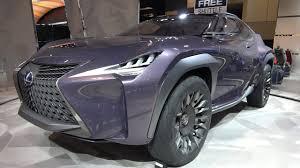 lexus lx 570 in canada new lexus ux concept exterior 360 walkaround 2017 canadian