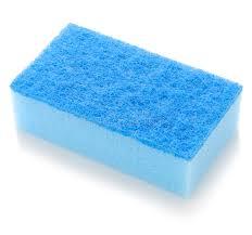 eponge cuisine bleu d éponge de cuisine photo stock image du frottez 22951754