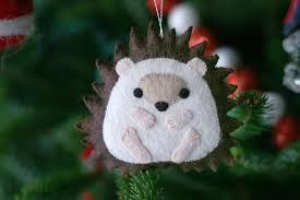 the hedgehog not a carolyn deangelis ornament but i kept