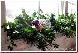 Christmas Decorations For A Bay Window by For Christmas Christmas Window Decoration Ideas Fireplace