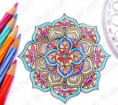 draw mandala 6 easy steps u2013 bhaili u2013 friend