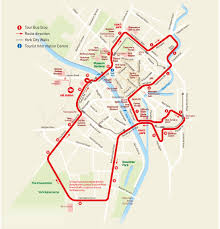 Emirates Route Map by City Sightseeing York Hop On Hop Off Tour Tour York