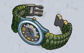 paracord survival bracelet instructions images Make a paracord watchband or bracelet boys 39 life magazine jpg