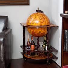 belham living 16 in floor old world bar globe cart home mini bar