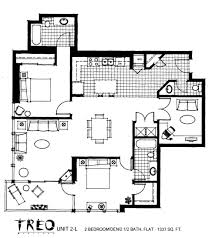 Metropolitan Condo Floor Plan Treo Floor Plan Unit 2v 2nd Floor