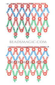 389 best beading netting patterns images on pinterest beads