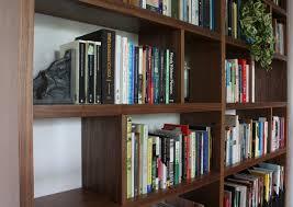 Bookcase Wall Portfolio Walnut Bookshelf Wall Offerman Woodshop