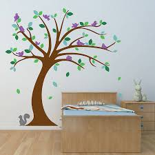 children s tree wall stickers set by oakdene designs