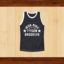 Mike Tyson Clothing Line Boxer Iron Mike Tyson Basketball Jersey