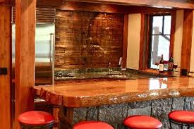 Slab Wood Bar Top 30 Best Bar Images On Pinterest Bar Ideas Basement Bars And