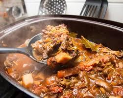 cuisiner le sanglier avec marinade recette daube de sanglier