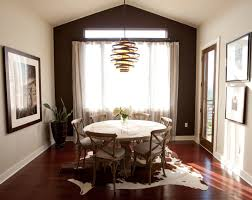 Rug For Dining Room by 22 Gorgeous Cowhide Rugs In The Dining Room Home Design Lover