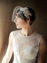 short ballroom hair cuts 15 beautiful veiled short wedding hairstyles