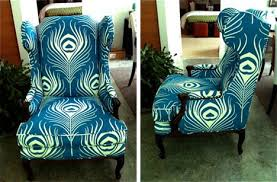 peacock blue chair paul peacock fabric naturalupholstery