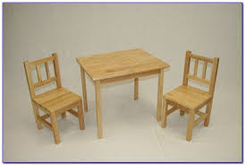wooden childrens table and chairs set chairs home design ideas