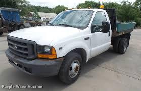 Ford F350 Truck Rental - 1999 ford f350 super duty dump flatbed pickup truck item d