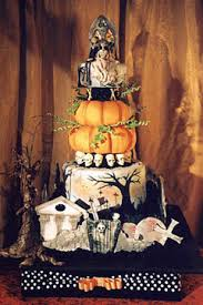 fashion u0026 style by merle 2012 spooky halloween wedding cake ideas