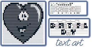 Meme Text Art - facebook text art ascii art symbols emoticons