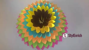 Diy Paper Home Decor by Diy Room Decor Ideas Amazing Paper Crafts Ideas To Decorate Your