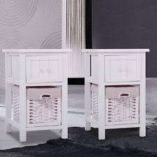 wicker night stand furniture ebay