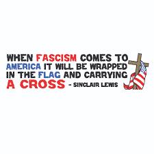 Flag It Stickers When Fascism Comes To America U2026 Bumper Sticker