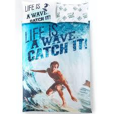 girls surf bedding children teenage kids boys girls single quilt duvet cover