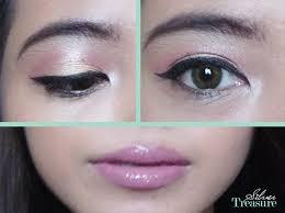Aplikasi Eyeshadow Sariayu fotd fierce chic makeup tutorial silver treasure on a
