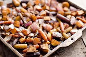 Recipe For Roasted Root Vegetables - balsamic dijon roasted root vegetables healthy side