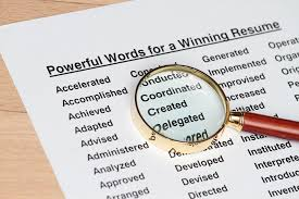 Resume Strong Verbs 100 Most Powerful Resume Words Work It Daily
